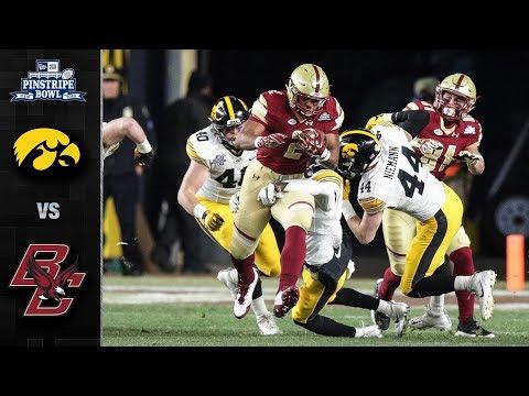 Iowa vs. Boston College Pinstripe Bowl Highlights (2017)