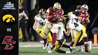 Iowa vs. Boston College Pinstripe Bowl Highlights (2017)