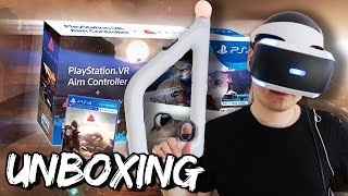 Farpoint + PlayStation VR Aim Controller - Unboxing