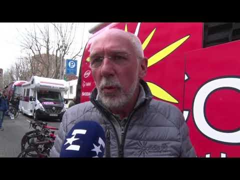 Roberto Damiani - interview au départ - Etape 2 - Tour de Catalogne 2018