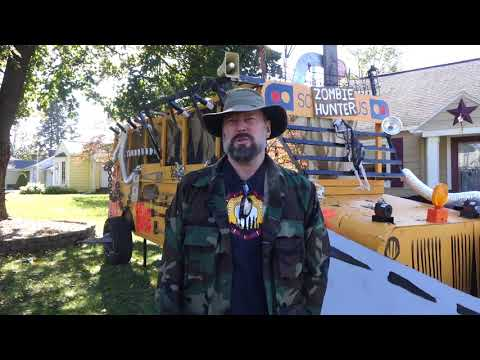 Stan Munro's Zombie Hunter School Bus