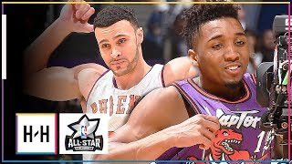 Donovan Mitchell vs Larry Nance Jr. EPIC DUNK Duel at 2018 All Star Dunk Contest - Nance Got ROBBED?
