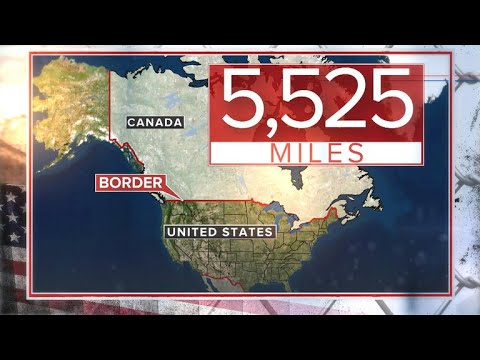 Little to protect U.S.-Canada border from illegal crossings