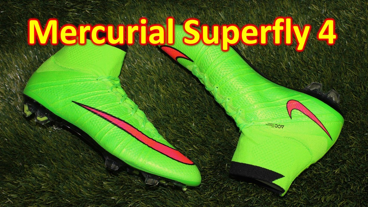 low cost 0fc5e 34660 Nike Mercurial Superfly 4 Electric Green Hyper Punch - Unboxing + On Feet