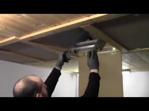 Youngman 302340 Spacemaker Loft Ladder Installation