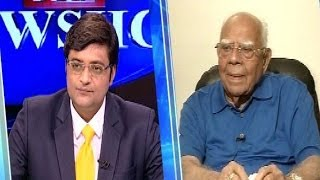The Newshour Direct: Ram Jethmalani (24th April 2014)