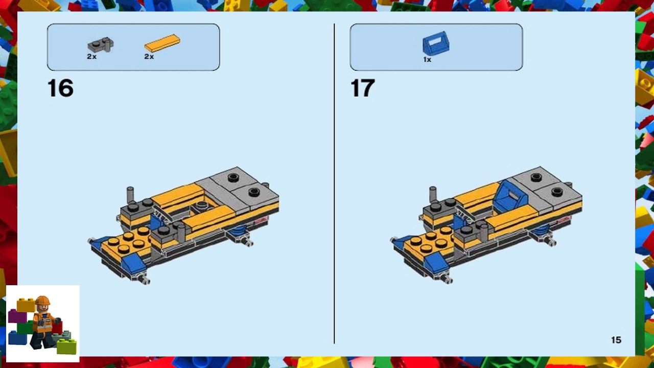 lego building instructions book
