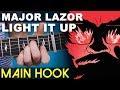 Light It Up   Major Lazor   Main Hook   Guitar Lesson   On-Screen TAB