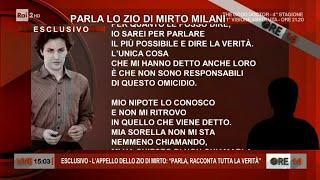 Omicidio Laura Ziliani: l'appello dello zio di Mirto Milani - Ore 14 del 15/10/2021