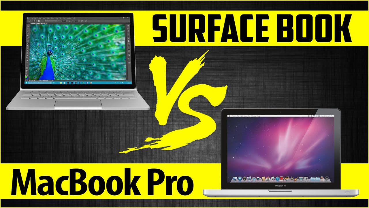 microsoft surface book vs apple macbook pro doovi. Black Bedroom Furniture Sets. Home Design Ideas