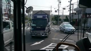 名古屋市営バス 星丘13系統 前面展望  星ヶ丘~妙見町~杁中
