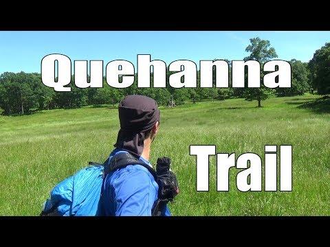 Backpacking the Quehanna Trail, Pennsylvania