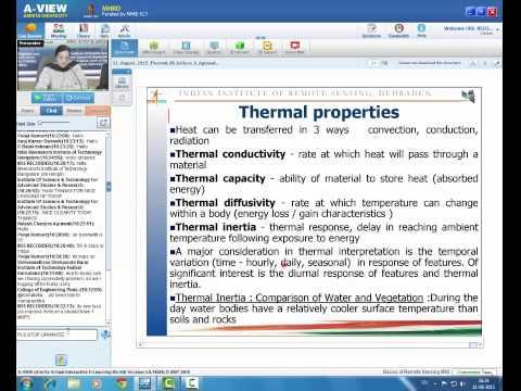 21 August 2015 Thermal Remote Sensing  Ms Shefali Agrawal