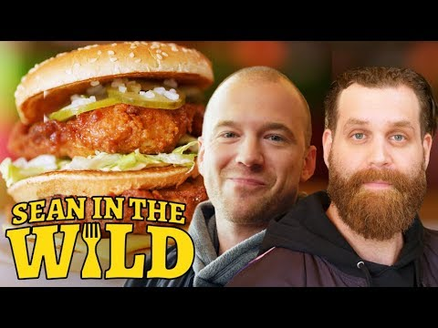 Harley Morenstein and Sean Evans Review Fast-Food Mashups | Sean in the Wild