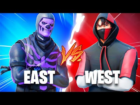 I Hosted An EAST vs WEST 1v1 Tournament... (west are gods?!)
