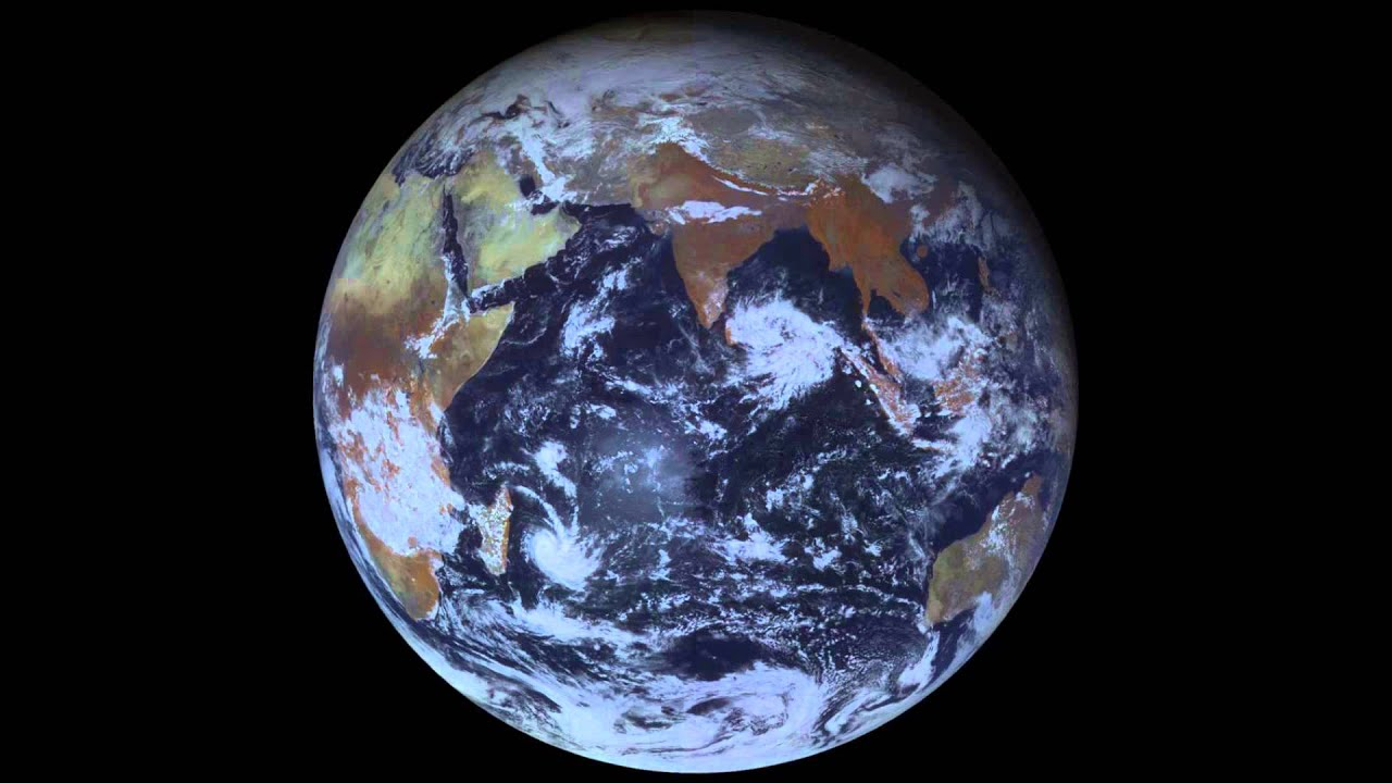 January Earth Satellite View Video YouTube - World satellite map 2014