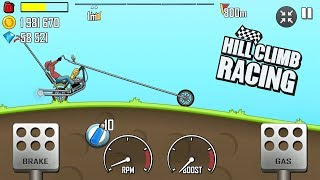 Hill Climb Racing - New Chopper bike \ GamePlay