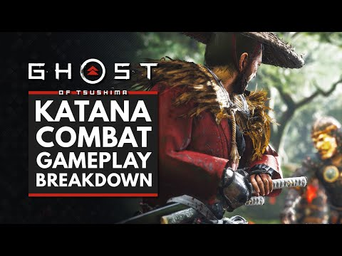 Ghost of Tsushima | Katana Combat Gameplay Breakdown – Stances, Upgrades & More!