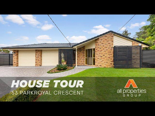 53 Parkroyal Crescent, Regents Park   House Tour   Derrick Williams & Chris Gilmour