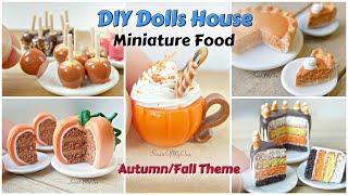 5 DIY Miniature Dolls House Foods - Tutorial Video Compilation