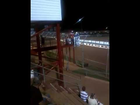 Pure stock race at Swainsboro raceway 6/10/17