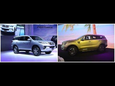 So sánh Toyota Fortuner 2018 và Ford Everest 2018: Gió có đổi chiều?