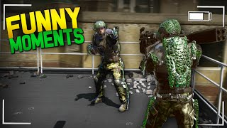 COD Advanced Warfare Funny Moments - TV Broadcast, Waffles, Alligator Facts!