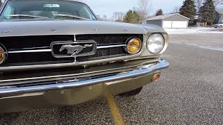 1965 ford mustang champagne for sale at www coyoteclassics com