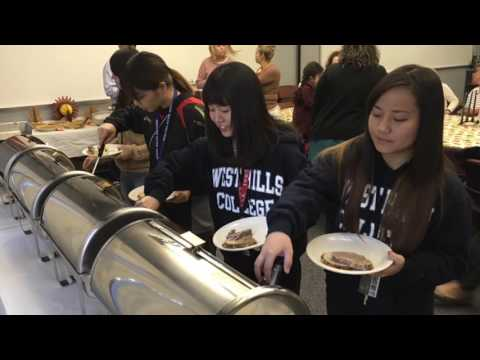 West Hills College Coalinga International Students Thanksgiving Dinner