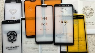 Какое Защитное Стекло Выбрать? Сравнение всех Видов Стёкол на Телефоны Xiaomi. Смартфон Какого Бренда Выбрать