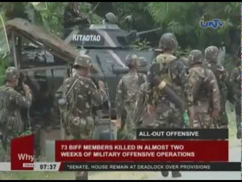 73 BIFF members killed in almost 2 weeks of military offensive operations