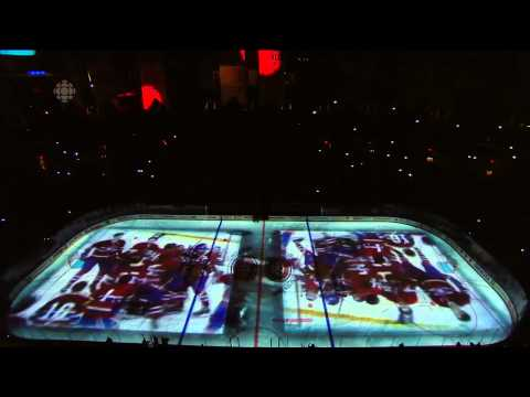 Montreal Canadiens Pre-Game Intro Game 3 vs Lightning - 2014/04/20