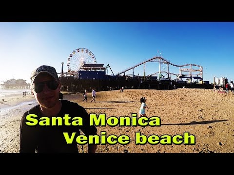 Metal Detecting Santa Monica and Venice beach