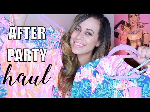 00ce9113fee007 HUGE Lilly Pulitzer After Party Sale Haul + Try On!!! - YouTube