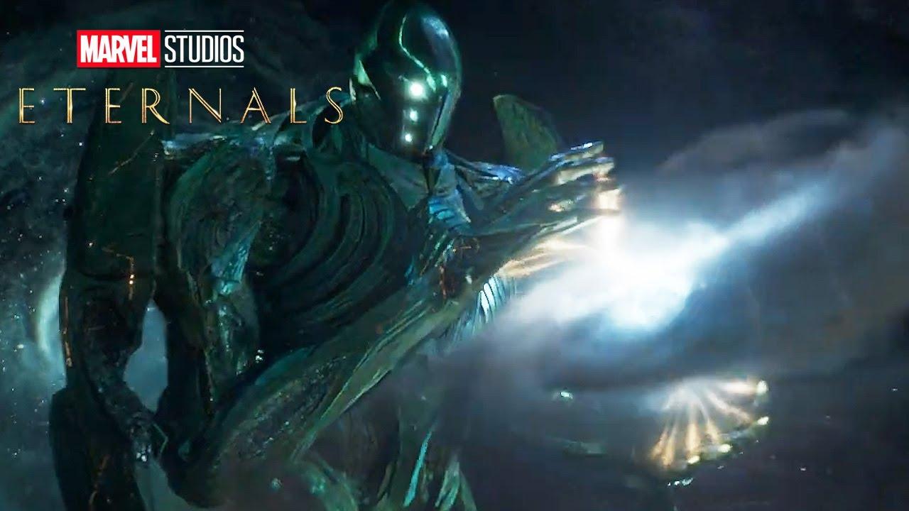 Eternals Trailer - Marvel Celestials and Avengers Endgame Connection Explained - YouTube