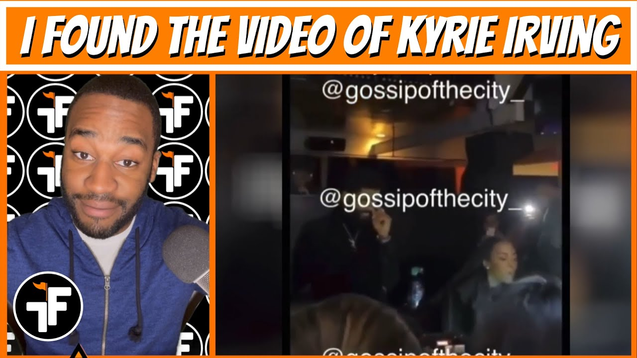 Kyrie Irving Seen Maskless at a Birthday Party   NBA is Investigating  Videos - YouTube