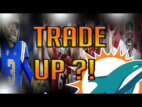 SHOULD THE MIAMI DOLPHINS TRADE UP FOR A QUARTERBACK?! + DRAFT STREAM UPDATE