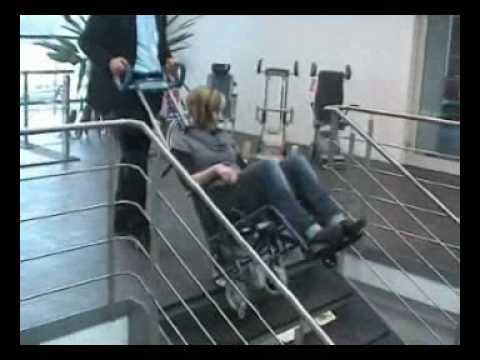 Stairclimber Scalamobil Youtube