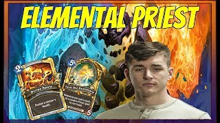 Firebat is going to legend with a Elemental Lyra Priest (Un
