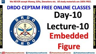 DRDO CLASSES (FREE CRASH COURSE) DAY-10 {LECTURE-10} - REASONING APTITUDE