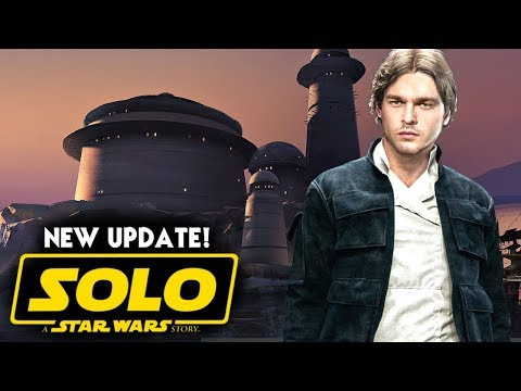 Han Solo Movie Exciting Update! Star Wars News (Solo A Star Wars Story)