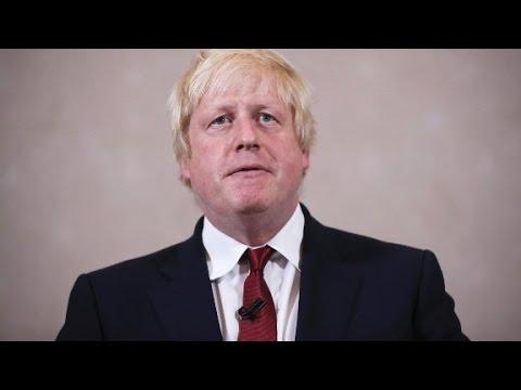 Boris Johnson becomes British Foreign Secretary
