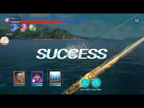 Big Fish Sun Patterned Bluefin Trevally Catch Gameplay 1 Fishing Strike