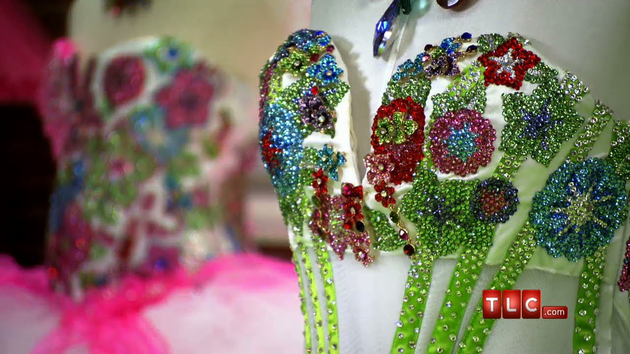 blooming bling flowers my big fat american gypsy wedding