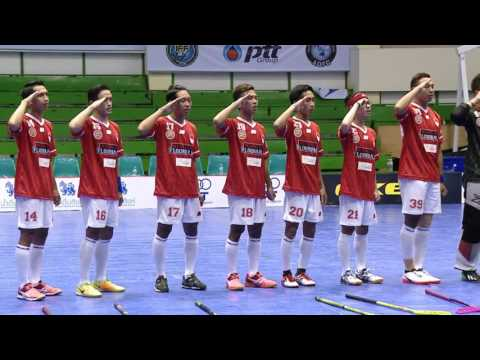 40 1 St PTT Asia Ocenia Floorball Cup 2017 AOFC CUP 2017 Thailand VS Indonesia   YouTube