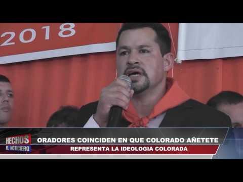 Canal 48 HD - ORADORES COINCIDEN EN QUE COLORADO AÑETETE REPRESENTA LA IDEOLOGÍA COLORADA