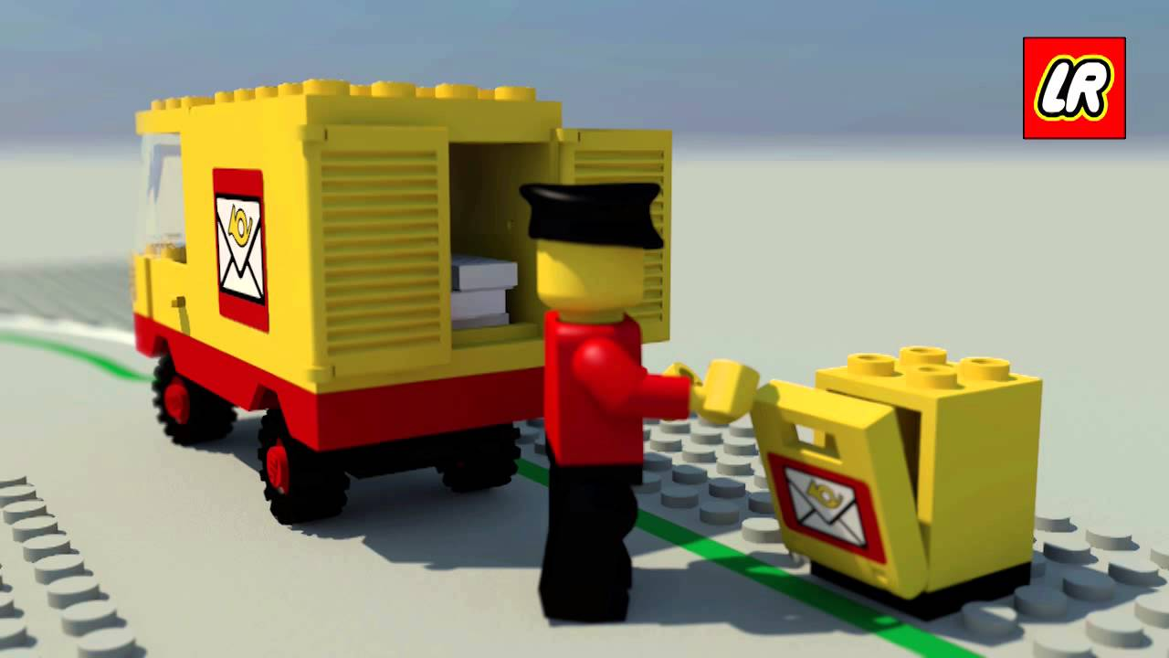 1000  images about Mail & Postal in Lego on Pinterest
