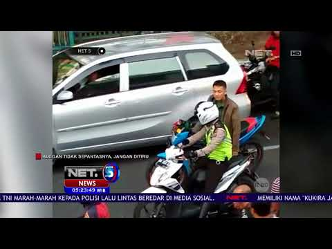 Tidak Terima Diperingatkan, Anggota TNI Memukul Polisi - NET5
