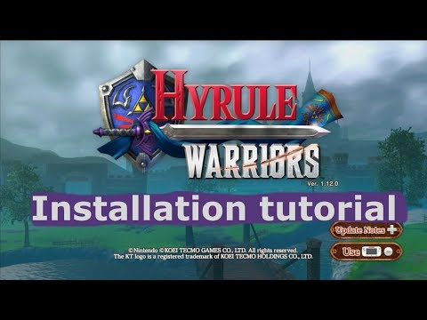 Hyrule Warriors tutorial! - With Model changer and 4k