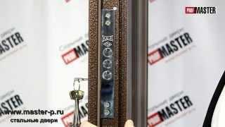 видео Металлическая входная дверь  Модель Мастер